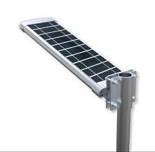 Lampione a Energia Solare a led per strade viali lampada fotovoltaica faretto