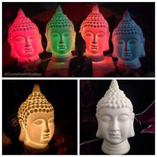Buddha Lamp Made Of Porcelain White For a Beautiful Zen Decor