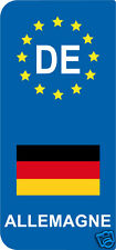 2 Stickers Europe ALLEMAGNE