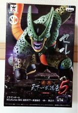 DRAGON BALL Z CELL 2 SCULTURES 5 FIGURE FIGURA NUEVA NEW