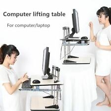 Adjustable Height Table Top Sit/Stand Desk mount for monitor/laptop-WORK STATION