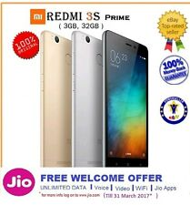 "Xiaomi Redmi 3S Prime 4100mah Battery Fingerprint ID Octa Core 5"" sealed"