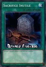 Yu-Gi-Oh ! Sacrifice Inutile (Foolish) SR02-FR029 (SR02-EN029) VF/COMMUNE !