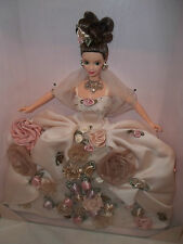 1996 Antique Rose Barbie #15814. F. A. O. Schwarz Limited Edition. Majestic.