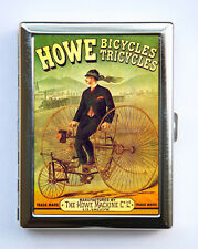 Howe Bikes Cigarette Case Wallet Business Card Holder tricycles