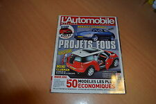 L'automobile N°732 207 RC.Audi TT Roadster / Alfa Spider.Swift Sport.Aston V8