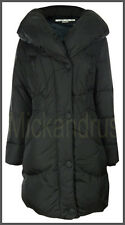 $270 NWT Larry Levine Warm Chic Down Quilted Puffer Coat Jacket Black Size Small