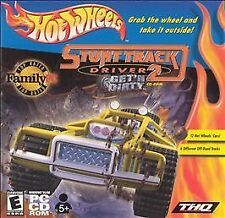 Hot Wheels Stunt Track Driver 2: Get'n Dirty CD-ROM PCCD-ROM GAME! STUNT RACING!