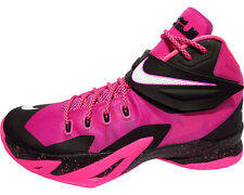 NEW Nike Lebron Zoom Soldier VIII 8 Breast Cancer Kay Yow Pink 653641-610 SIZE 9