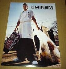EMINEM 2000 RARE Retail PROMO POSTER For Marshall Mathers CD USA MINT 18x24
