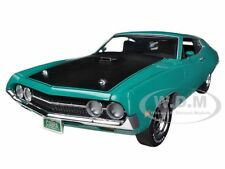 1970 FORD TORINO COBRA 429 COBRA JET GRABBER GREEN 1/18 BY AUTOWORLD AMM1018