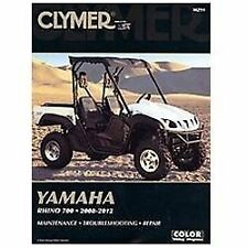 2008 2009 2010 2011 2012 Yamaha Rhino 700 Clymer ATV Repair Manual M291