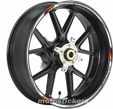Adesivi cerchi tuning bandiera Germania Aprilia Dorsoduro 750 - stickers wheels