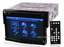 "SOUNDSTREAM VR-730 +2YR WNTY 7"" IN DASH MULTIMEDIA DVD CAR AUDIO STEREO RECEIVER"