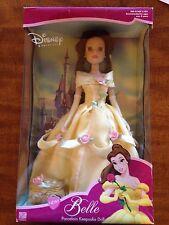 Disney Princess Belle Porcelain Keepsake Doll by Brass Key NEW IN BOX 2001
