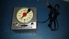 Vintage MASTER TIME-O-LITE Industrial Timer Darkroom Photography Equipment M72