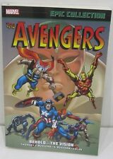 The Avengers Epic Collection Behold The Vision Marvel Graphic Novel Comic Book