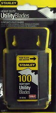 Stanley 11-921A Blade Dispenser w/ 100 Utility Knife Blades !!SHIP DISCOUNT