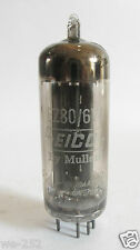 One 1961 Mullard/EICO EZ80 6V4 rectifier tube - TV7D tested @ 58/60, min:40/40