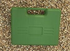 "6 x 10.5"" x 8.5"" inches HARD PISTOL CASE Handgun Gun Auto Air Airsoft GREEN"
