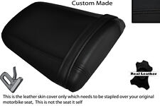 BLACK STITCH CUSTOM FITS HONDA CBR 600 RR5 RR6 05-06 REAR LEATHER SEAT COVER