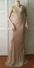 NEW Valentino Roma Nude Silk Blend Gown (Size 44) - MSRP $1,495.00!