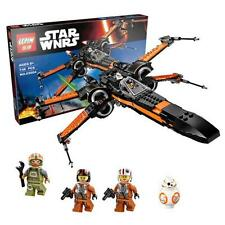 2016 NEW Star Wars First Order Poe's X-wing Fighter Assembled Toy Building Block
