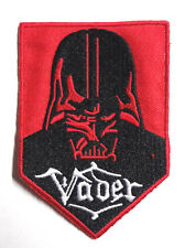 """Star Wars Vader Red & Black Banner Logo 3.5"""" Patch-FREE S&H (SWPA-CD-144)"""
