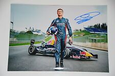David Coulthard signed 20x30cm Foto , Autogramm / Autograph in Person