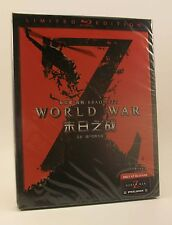 STEELBOOK Blufans WWZ World War Z New Region Free 3D