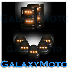 08-15 Ford Super Duty SMOKE Lens Amber LED Mirror Turn Signal+5pcs Cab LED Light