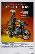 Knightriders Poster 01 Metal Sign A4 12x8 Aluminium