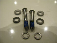 Avid GENUINE Titanium Caliper Mounting Bolts 32mm+38mm T25 w/ cup & cone washers