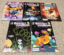BRAVEST WARRIORS 5 issue Comic Book lot 1-3, 5 & 7 Pendleton Ward