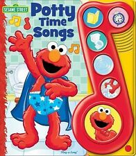 Elmo's Potty Time Play-a-Song Book, Editors of Publications International Ltd.,