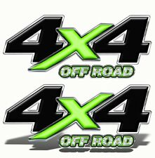 4X4 OFF ROAD DECAL STICKER GreenGraphics Toyota Chevy Ford Dodge Truck Mk004OR4