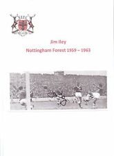 JIM ILEY NOTTINGHAM FOREST 1959-1963 ORIGINAL HAND SIGNED PICTURE CUTTING
