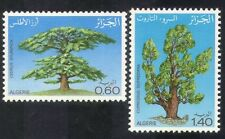Algeria 1981 Tree Day/Cedar/Cypress/Trees/Plants/Nature/Environment 2v (n39292)