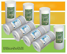 """8 - 10""""x4.5"""" Sediment & Carbon Block for Big Blue Whole-House Water Filter Sys"""