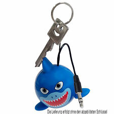 Kitsound Mini Buddy Shark - Speaker Lautsprecher  für Handy MP3 Player Tablet