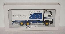 """Wiking MB cambio maleta-camión """"transporte para Europa"""" de AJA 1992 1:87 en OVP"""