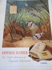 1948 Pub Advert Print Cussons Imperial Leather The Toilet Luxuries of exquisite