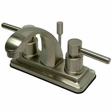 Kingston Brass KS4648DL Concord 4-Inch Centerset Lavatory Faucet with Concord Le
