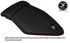 RED DOUBLE STITCHING CUSTOM FITS BMW S 1000 RR 2015-2016 REAR VINYL SEAT COVER