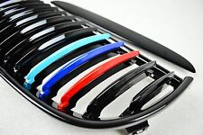 Front Kidney Grille Glossy Black ///M Color For BMW E90 / E91 05-08 318d 320d