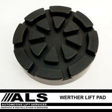 Werther 2 Post Lift Rubber Pad x 1 Car Vehicle Lift Ramp Hoist Spares Parts