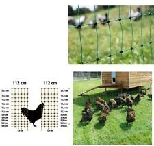 Turkey net 50 m 112 cm Doppelsp. green electrified Fence Electric fence