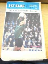 25/08/1973 Coventry City v Tottenham Hotspur [sin cortar las impresoras prueba]. no obviou