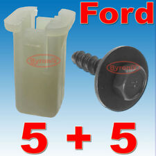 FORD FIESTA ST150 FRONT BUMPER PLASTIC CLIPS GROMMET EXPANDING NUT & SCREWS