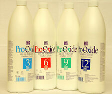 4-PACK Pro-Oxide Peroxide Creme Oxydant 10 20 30 40 vol 3% 6% 9% 12% 4x1000ml